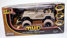 2009 TOY NEW BRIGHT R/C MUD SLINGER RADIO CONTROL JEEP NEW OLD STOCK
