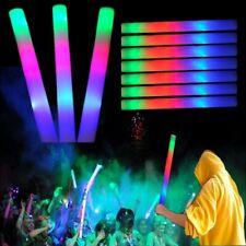 100 Pcs Light Up Led Foam Sticks Glow Wands Rally Rave Batons Flashing Party Dj