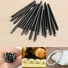 20pcs Assorted Punches For Jewelry Flower Punch Stamp Steel Stamp Punch Tools