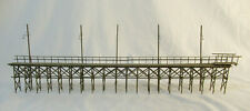 HO Scale Craftsman Elevated Walkway with Lights