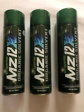 MZ12X Organic Solvent  3 x 520ml Cans