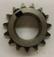 """Roller Chain Sprocket, #35, 15 Tooth, 1"""" Bore, 710-315-E"""