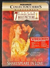 Shakespeare in Love (Dvd, 1999, Miramax Collectors Series) Sealed