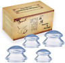 4 Cupping Therapy Silicone Set Massage Cups Body Anti Cellulite Pain Arthritis