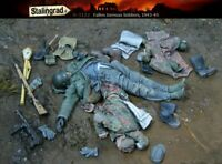 Stalingrad S-3122 Fallen German Soldiers 1943-45 1/35 Resin Model Kit Free