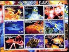 Comoros - 2000 - Ocean Life - 9 Stamp Sheet - N0112-08