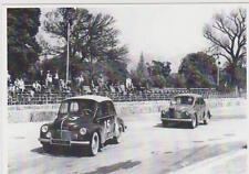 carte postale - RENAULT 4CV - DECOUVRALBE EN COMPETITION - 1950