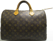 Louis Vuitton Sac Speedy 35 Tasche Bag Zeitlos Timeless Elegant model PATINA M
