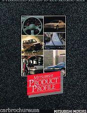 1990 Mitsubishi Brochure / Catalog: GALANT,ECLIPSE,MIRAGE,MONTERO,SIGMA,WAGON,