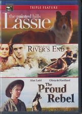 Lassie:The Painted Hills/River's End/The Proud Rebel (DVD, 2011) BRAND NEW