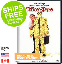 Office Space (DVD, 2002, Full Screen Edition) NEW, Sealed, Ron Livingston