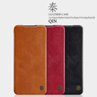 For Xiaomi Redmi Note 9S/Note 9 Pro Max NILLKIN QIN Leather Card Flip Case Cover