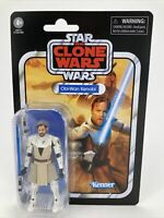 Star Wars Vintage Collection OBI-WAN KENOBI Clone Wars 3.75 Figure VC103 IN HAND