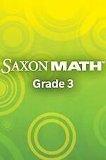 Saxon Math Intermediate 3: Test & Practice CD