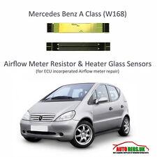 MERCEDES BENZ CLASSE A W168 ECU Flusso D'AriA Misuratore Sensore di vetro x 2 NUOVO