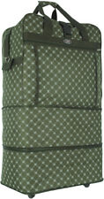 """30"""" / 36"""" / 40"""", Expandable Rolling Duffel Bag Wheeled Spinner Suitcase Luggage"""