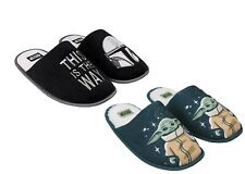 Star Wars The Mandalorian Official slippers Baby yoda Grogu Mandalorian