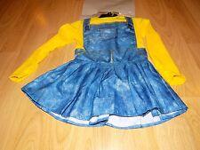 Size Small 4-6 Female Minion Costume Dress Rubie's Despicable Me The Minions New