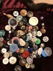 Vintage Antique button Lot