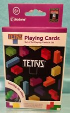 Tetris 3D Lenticular Playing Cards with Tin - Paladone Collector Must Have! VHTF