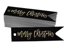 Real Foil Merry Christmas Tags Favor Hang Paper Tags-XM-SH1_8BG