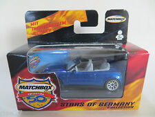MATCHBOX MB71 MERCEDES-BENZ CLK CONVERTIBLE. STARS OF GERMANY - MIB/BOXED.