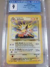 Jolteon Pokemon Jungle 4/64 Holo CGC 9 Mint (PSA BGS)