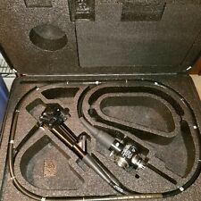 Olympus CF-140L Colonoscope w/Valve Covers & Carry-Case