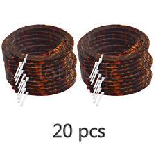 20*Celluloid Acoustic Guitar Binding Purfling Strip 5mm x 1.5mm Brown