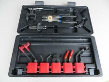 MATCO TOOLS FLEXIBLE RADIATOR HOSE / HOSE CLAMP PLIERS TOOL SET / KIT W/CASE