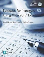 Statistics for Managers Using Microsoft Excel by David F. Stephan, David M. Levi