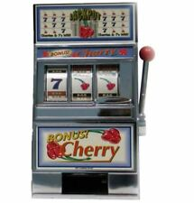 Trademark Cherry Bonus Slot Machine Bank Game Arcade Games Casino Replica Games