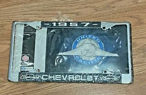 1957 Chevy Belair License Plate
