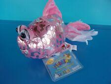Webkinz Adopt A Pet Pink Fantail Goldfish Adoptable Plush Stuffed  GANZ