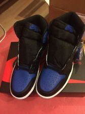 NIKE AIR JORDAN 1 RETRO HIGH OG ROYAL BLACK BLUE AJ1 2017 Size 7UK