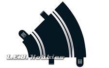 Scalextric Track Radius 1 Curve 45º 1:32 slot car track, 2/pk C8202