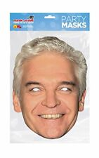 MASK-ARADE Official Licensed Phillip Schofield Card Cutout Face Mask with E NEW