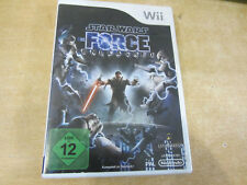 Star Wars: The Force Unleashed Nintendo Wii mit Anleitung