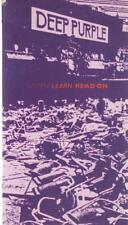 CD-box Deep Purple listas learn read on long Digibook Hardcover EMI