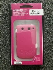 Pink/White Commuter Series Blackberry Torch 9810 & 9800 Smartphone strength case
