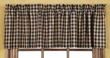 Bingham Star Plaid Valance by VHC Brands -  Lined, 16x72""