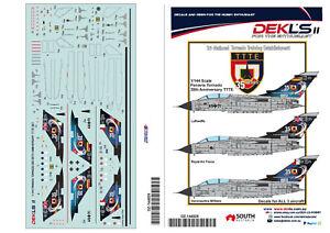 1/144 Trinational Tornado Training Establishment Decals DEKL's II