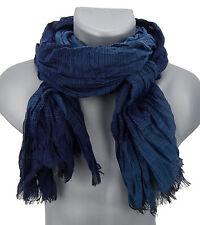 Men's Scarf blue striped von Ella Jonte scarf Viscose new arrival