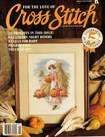 For The Love Of Cross Stitch Magazine 21 Projects Patterns Nov 24 Halloween