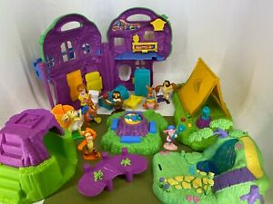 Fisher Price - Winnie The Pooh - 100 Acre Wood Playset Accessories & Figures