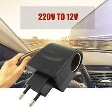 220V AC to 12V DC Car Auto Power Converter Adapter Cigarette Lighter Socket ON