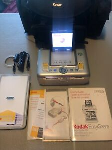 Kodak Easyshare Photo Printer 500 With Carrying Bag And Some Extra Paper