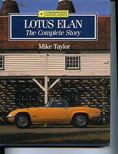 LOTUS ELAN THE COMPLETE STORY, TAYLOR, NEW CROWOOD 1990 HARDCOVER BOOK / Offer?