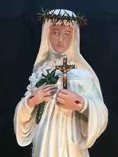 """St. Catherine of Siena 31"""" Patron of Fire Protection"""