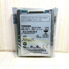 "Toshiba 100GB,Internal,4200 RPM,4.57cm (1.8"") (MK1011GAH) CE Notebook hard drive"